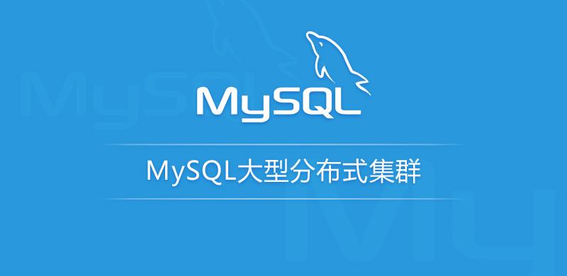 龙果学院 MySQL大型分布式集群