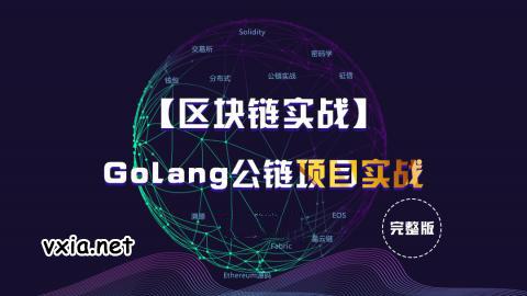 区块链实战之Golang公链项目开发