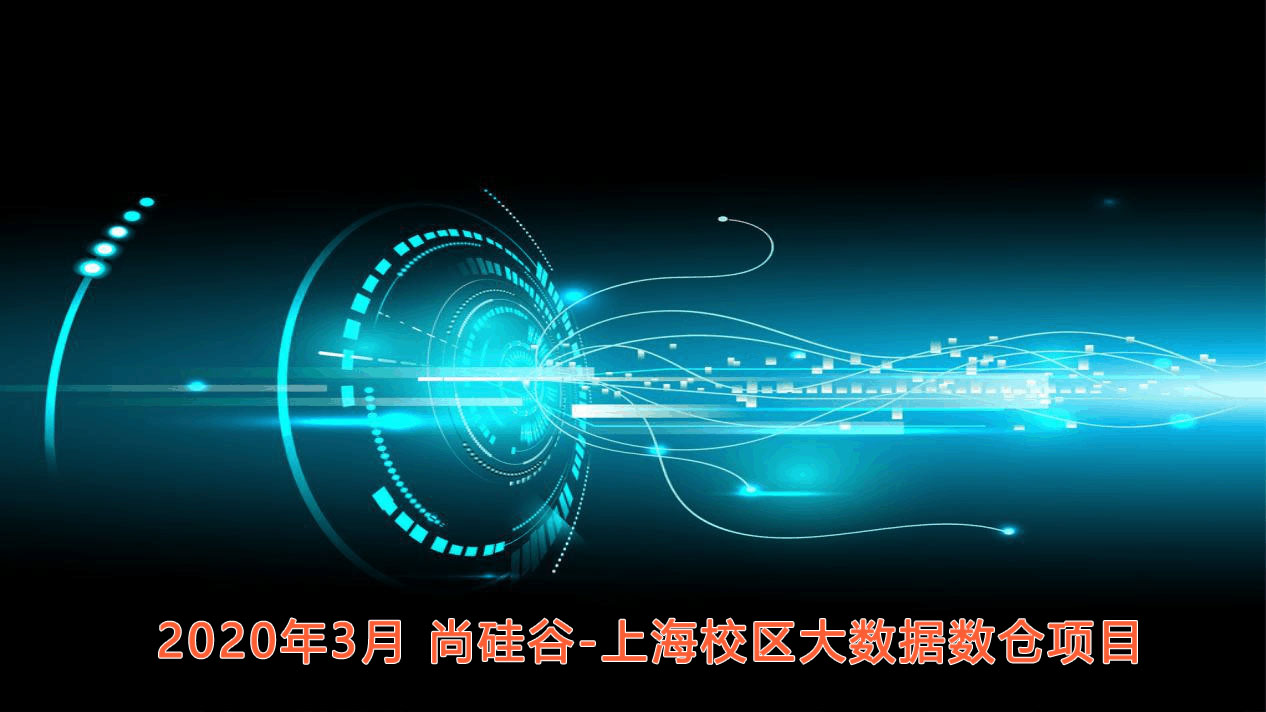 2020年3月 尚硅谷-上海校区大数据数仓项目【15天 资料齐全】