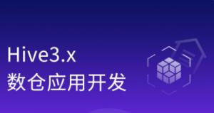 Hive3.x零基础入门到企业实战[完整资料]